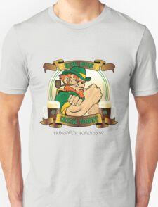 St Patricks Day - New Born Irish Today Hungover Tomorrow T-Shirt