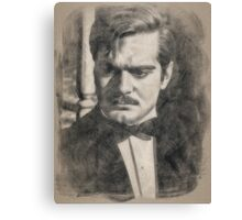 Omar Sharif by John Springfield Canvas Print