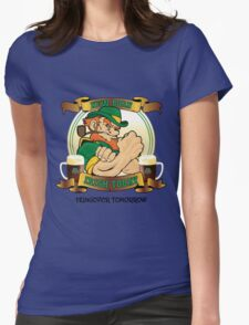 St Patrick's Day - New Born Irish Today Variant Womens Fitted T-Shirt