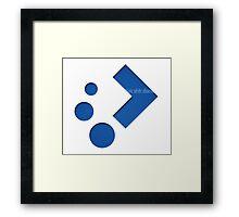 Plasma Logo 2 Framed Print