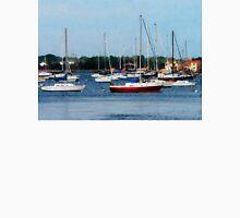 Group of Sailboats Newport RI Unisex T-Shirt