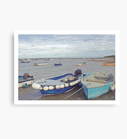 Harbour. Canvas Print