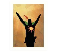 Praise the Sun! Art Print