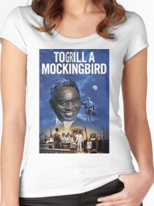 To Grill a Mockingbird Women's Fitted Scoop T-Shirt