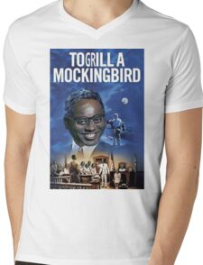 To Grill a Mockingbird Mens V-Neck T-Shirt
