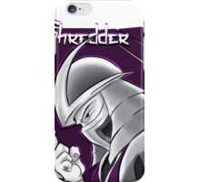 The Shredder - Purple Foot Clan iPhone Case/Skin