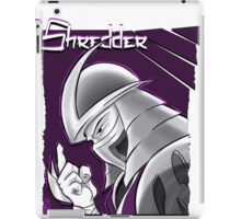 The Shredder - Purple Foot Clan iPad Case/Skin
