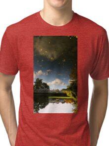 Campus reflection Tri-blend T-Shirt