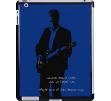 Stories become Songs, Doctor Who iPad Case/Skin