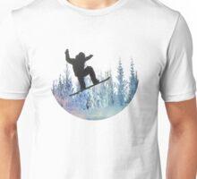 The Snowboarder: Air Unisex T-Shirt