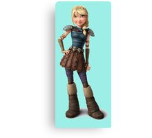 Astrid - How to Train Your Dragon 2 Canvas Print