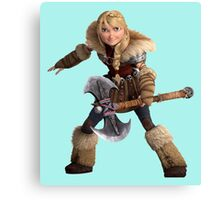 Astrid - How to Train Your Dragon 3 Canvas Print