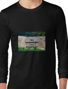 Graves at Saint Vitus Parish Church in Gracisce Long Sleeve T-Shirt
