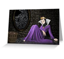 Evil Witch just heard the news... Greeting Card