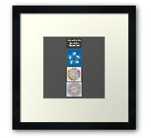 sign language Framed Print