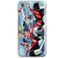 Goldrake Grendizer and Mazinger, best super robots iPhone Case/Skin