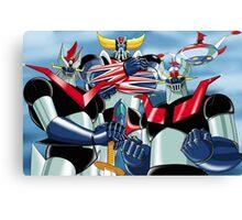 Goldrake Grendizer and Mazinger, best super robots Canvas Print