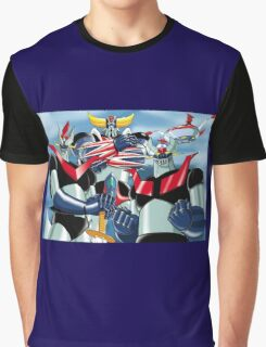 Goldrake Grendizer and Mazinger, best super robots Graphic T-Shirt