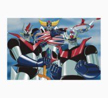 Goldrake Grendizer and Mazinger, best super robots Kids Tee