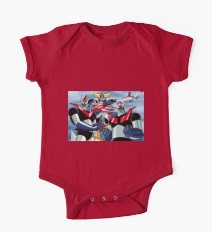 Goldrake Grendizer and Mazinger, best super robots One Piece - Short Sleeve