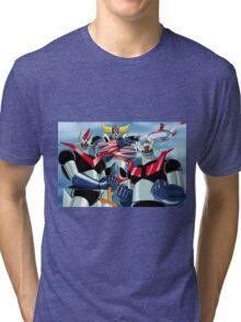 Goldrake Grendizer and Mazinger, best super robots Tri-blend T-Shirt
