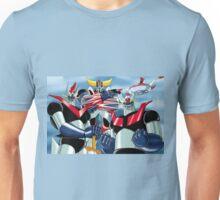 Goldrake Grendizer and Mazinger, best super robots Unisex T-Shirt