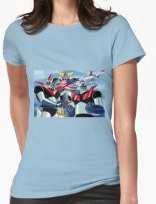 Goldrake Grendizer and Mazinger, best super robots Womens Fitted T-Shirt