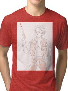 Han Winchester - Sam Solo Tri-blend T-Shirt