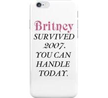 Britney Survived, Britney. iPhone Case/Skin