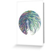Dynamic Feminine Greeting Card
