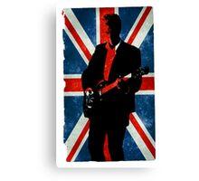 Twelve's Guitar, Hell Bent Doctor Who Canvas Print