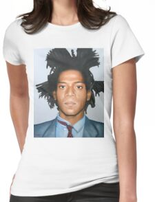 Jean-Michel Basquiat Womens Fitted T-Shirt