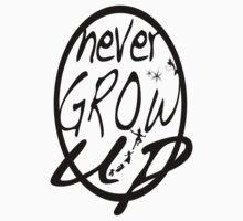 Never grow up. One Piece - Short Sleeve