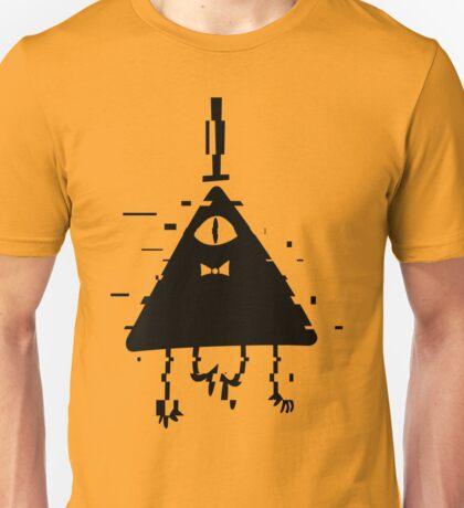 Bill Cipher static black Unisex T-Shirt