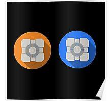 Cube portal Poster