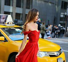 Red Dress by Igor Shrayer