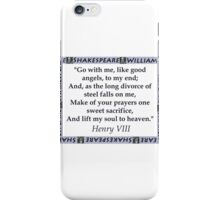 Go With Me - Shakespeare iPhone Case/Skin