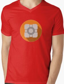 Cube portal Mens V-Neck T-Shirt