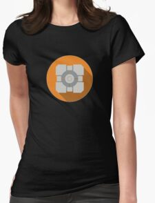 Cube portal Womens Fitted T-Shirt