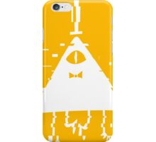 Bill Cipher static white iPhone Case/Skin