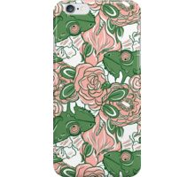 Chameleon abstract seamless pattern iPhone Case/Skin
