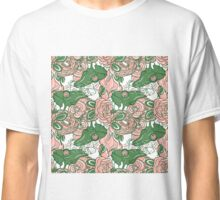 Chameleon abstract seamless pattern Classic T-Shirt
