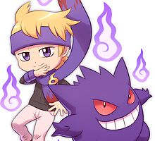 Morty and Gengar by quantumjinx