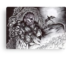 Werewolf - The Dark minister Canvas Print