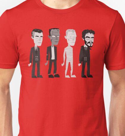 Many Faces Of Karloff Unisex T-Shirt