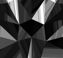 Black Pop Crystal Sticker