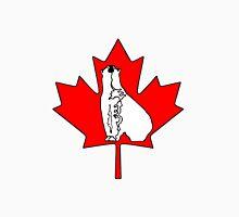 Canadian curious polar bear Unisex T-Shirt