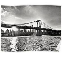 Manhattan Bridge, New York Poster