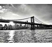 Manhattan Bridge, New York Photographic Print