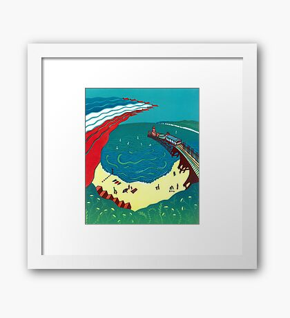 Red Arrows, Bournemouth Beach Framed Print